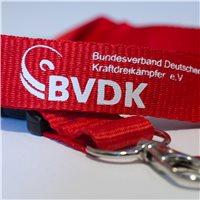 BVDK Schlüsselband rot