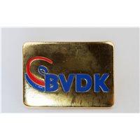 BVDK Pin ohne Rand gold